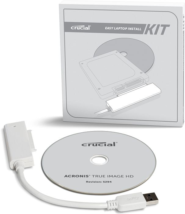 Crucial Easy Laptop Install Kit + Acronis (CTLAPINSTALLAC)