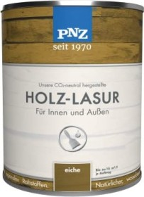 PNZ Holzlasur Holzschutzmittel Nr.04 eiche, 2.5l