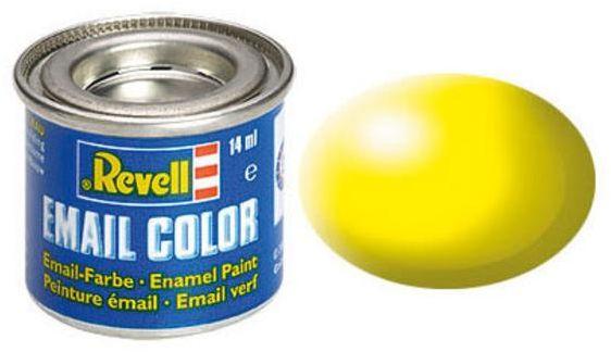 Revell Email Color leuchtgelb, seidenmatt, RAL 1026, Dose, 14ml (32312)