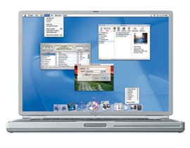 Apple PowerBook G4,  550MHz, 256MB (M8622D/A)