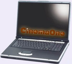 "YourBook CinemaOne, from 2.4 GHz,17"" WXGA"