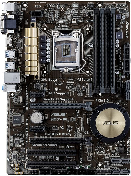 ASUS H97-Plus (90MB0IN0-M0EAY0)