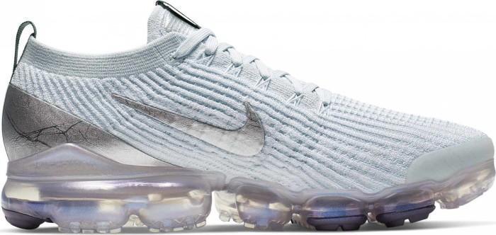 Nike Air VaporMax Flyknit 3 whitepure platinumdark greymetallic silver (men) (AJ6900 101) from £ 169.99
