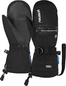 Reusch Luis R-Tex XT Skihandschuhe schwarz/weiß (Junior) (4961543-7701)