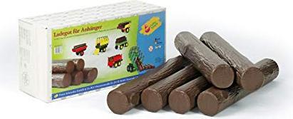 Rolly Toys rollyTrailer Timber Holzstämme aus Kunststoff