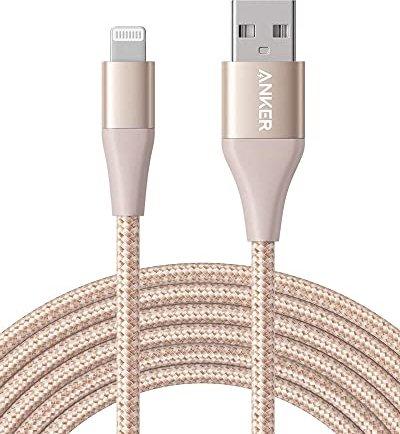 Anker Powerline+ II Lightning 3.0m gold (A84540B1) -- via Amazon Partnerprogramm
