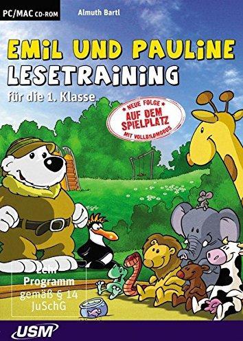 United Soft Media: Junior: Emil und Pauline: Lesespiele für die 1. und 2. Klasse (PC+MAC) -- via Amazon Partnerprogramm