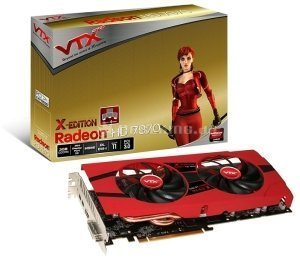 VTX3D Radeon HD 7970 X-Edition, 3GB GDDR5, DVI, HDMI, 2x mini DisplayPort (VX7970 3GBD5-2DHX) -- © caseking.de