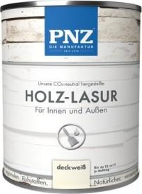 PNZ Holzlasur Holzschutzmittel Nr.17 deckweiß, 2.5l