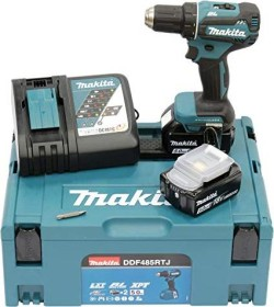 Makita DDF485RTJ Akku-Bohrschrauber inkl. MAKPAC + 2 Akkus 5.0Ah
