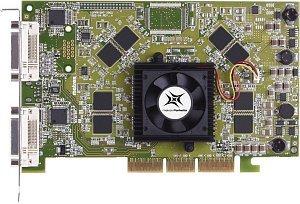 Matrox Parhelia, Parhelia-512, 128MB DDR, 2x DVI, TV-out, AGP, bulk (PH-A128B)