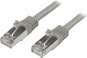 StarTech RNS PVC Patchkabel, Cat6, S/FTP, RJ-45/RJ-45, 5m, grau (N6SPAT5MGR)