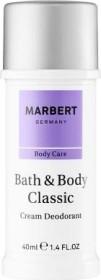 Marbert Bath & Body Classic Deodorant Cream, 40ml