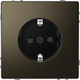 Merten System Design SCHUKO-Steckdose, moccametallic (MEG2300-6052)