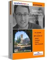 Sprachenlernen24 Spanisch Expresskurs (deutsch) (PC)