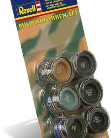 Revell Email Color Militär Farben-Set, 6-tlg. (32340)