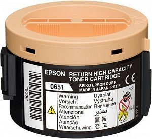 Epson Return Toner 0651 black (C13S050651)