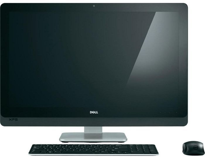 Dell XPS One 27, Core i7-3770S, 8GB RAM, 2TB HDD, BD-ROM, Multi-Touchscreen (2710-5543)