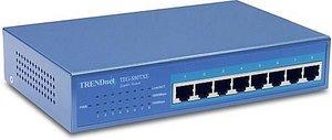 TRENDware TEG-S80TXE 8-Port 10/100/1000Mbps, Kupfer