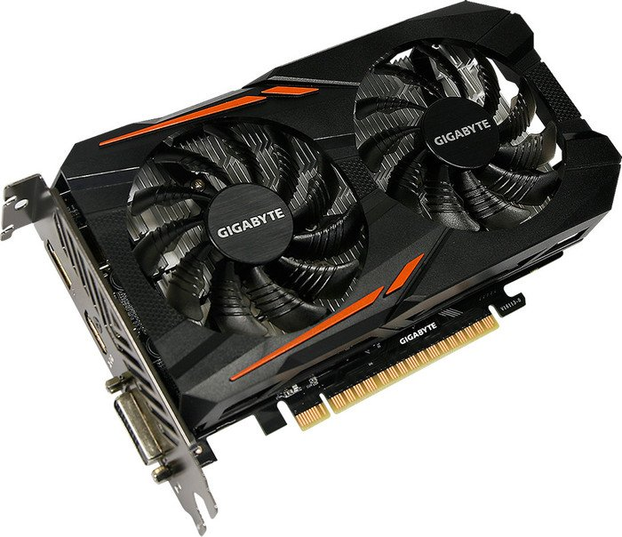 Gigabyte GeForce GTX 1050 Ti OC 4G, 4GB GDDR5, DVI, HDMI, DP (GV-N105TOC-4GD)