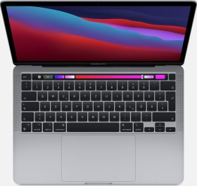 "Apple MacBook Pro 13.3"" Space Gray, Apple M1, 16GB RAM, 512GB SSD, US [2020 / Z11B/Z11C]"
