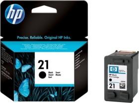HP Printhead with ink 21 black (C9351AE)