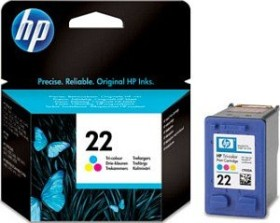 HP Printhead with ink 22 tricolour (C9352AE)