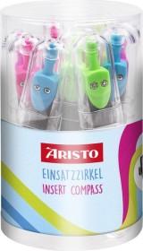 Aristo GEOCollege Einsatzzirkel, farbig sortiert (AR55042)