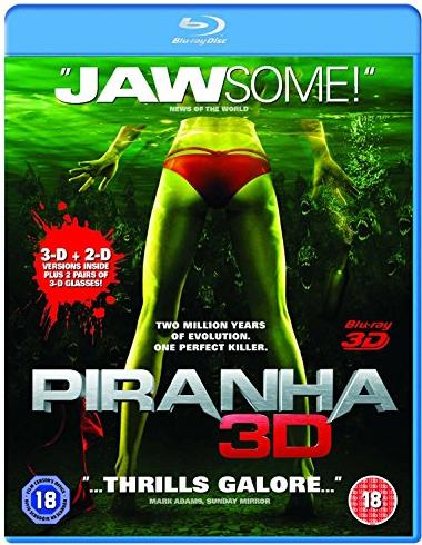 Piranha (3D) (Blu-ray) (UK) -- via Amazon Partnerprogramm