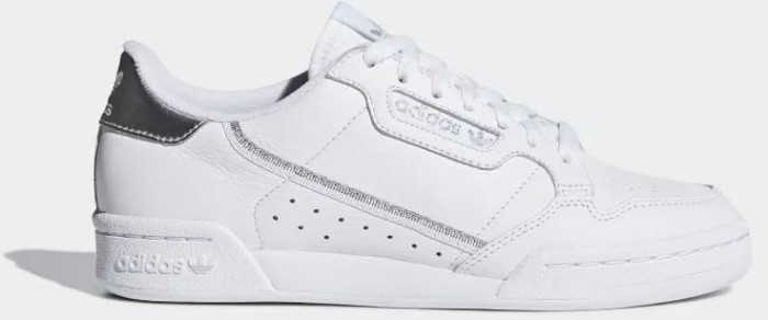 buy online 1aa82 c0737 adidas Continental 80 ftwr white/silver metallic (Damen) (EE8925) ab € 67,96