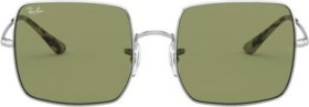 Ray-Ban RB1971 Square 1971 Classic 54mm silver/light green classic (RB1971-91974E)