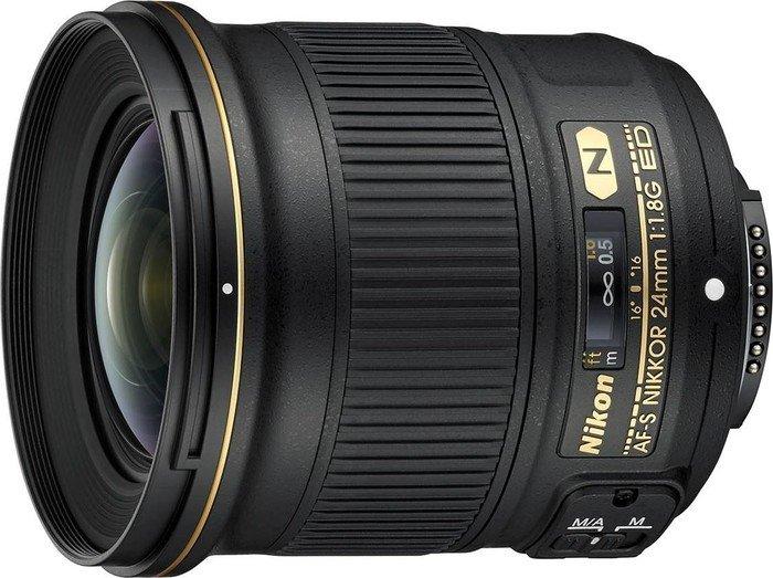 Nikon AF-S 24mm 1.8G ED black (JAA139DA)