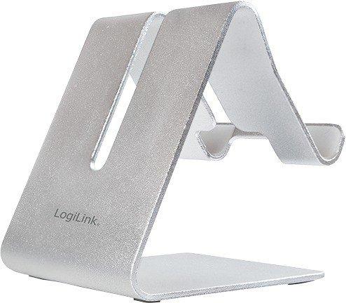 LogiLink Smartphone- und Tablethalter aus Aluminium (AA0122)
