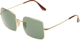 Ray-Ban RB1971 Square 1971 Classic 54mm polished gold/green classic (RB1971-914731)