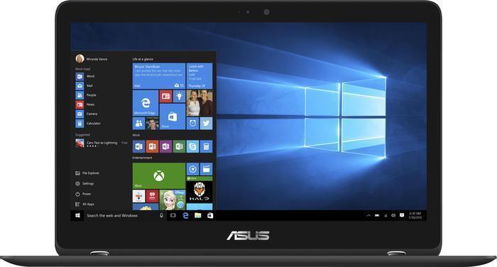 ASUS Zenbook Flip UX360UAK-BB284T schwarz (90NB0C03-M06320)