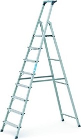 Zarges Z200 aluminum anodised household ladder 6 stages (44156)