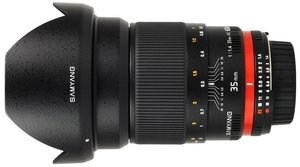 Samyang lens 35mm 1.4 AS UMC for Canon