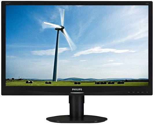 Philips S-Line 220S4LCB black, 22""