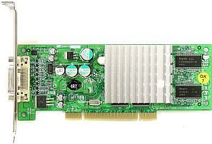 Leadtek WinFast A340 PCI, GeForceFX 5200 (5500), 64MB DDR, DVI, PCI