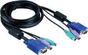 D-Link DKVM-CB Anschlusskabel 1.8m, PS/2