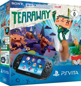 Sony PlayStation Vita Wi-Fi Tearaway Bundle schwarz