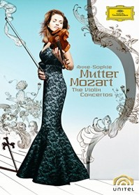 Anne-Sophie Mutter - Mozart: Violin Concertos (DVD)
