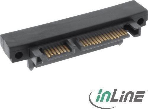 InLine SATA Adapter, SATA 22-Pin Stecker auf Buchse, oben gewinkelt (27700F)
