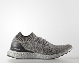 adidas Ultra Boost Uncaged medium grey heather solid grey/dark grey heather solid grey/silver metallic (Herren) (BA7997)