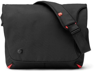 "Booq Taipan Shadow S 13.3"" messenger bag black/red (TSDS-BLR)"