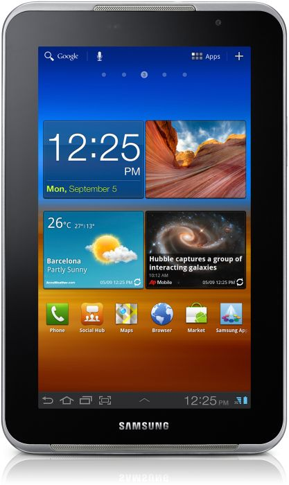 Samsung Galaxy Tab 7.0 Plus N P6201 16GB white (GT-P6201UWA)