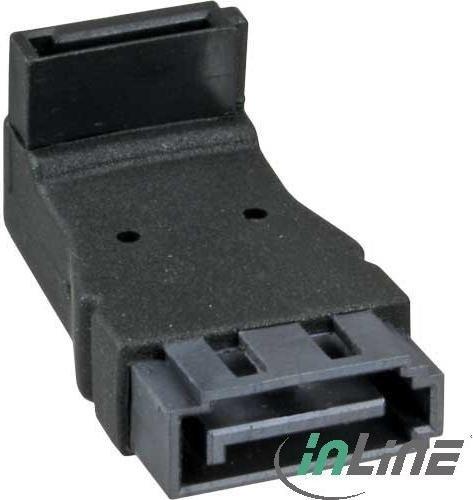 InLine SATA Adapter, SATA Stecker auf Buchse, oben gewinkelt (27700C)