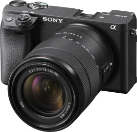 Sony Alpha 6400 schwarz mit Objektiv E 18-135mm 3.5-5.6 OSS (ILCE-6400MB)