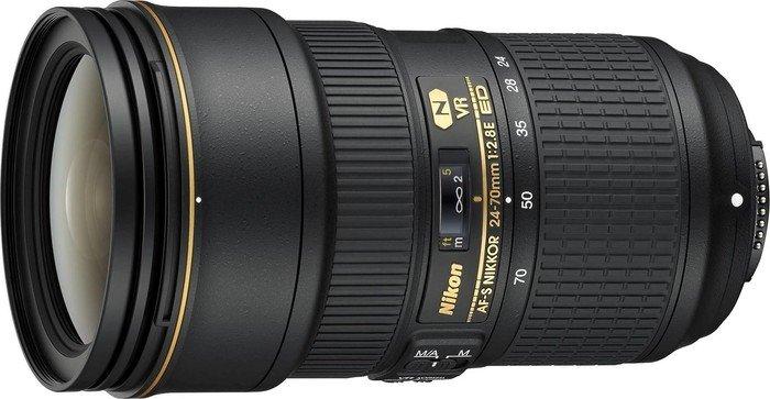 Nikon AF-S 24-70mm 2.8E ED VR black (JAA824DA)
