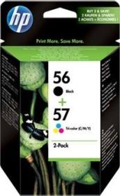 HP Printhead with ink 56+57 black/tricolour (SA342AE)